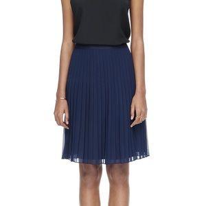 Rebecca Taylor Pleated Georgia Skirt